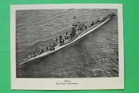 UM3) Marine U-Boot U B 64 1914-1918 Unterseeboot Geschütz Besatzung See1.WK