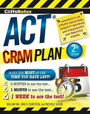 CliffsNotes ACT Cram Plan 2nd Edition by Jane R. Burstein, Nichole Vivion and...