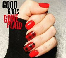 Color Street GOOD GIRLS GONE PLAID (Red Black Buffalo Plaid Fall Winter Holiday)