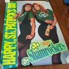 Vintage Miller SHAMROCKERS Lite Poster St. Patricks Day