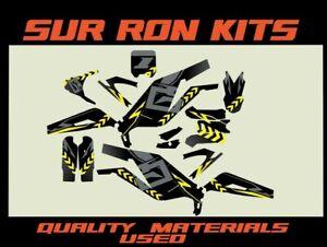 SUR-RON X LIGHT BEE ELECTRIC BIKE FULL GRAPHICS KIT STICKER KIT DECALS SUR-RON