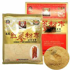 100% Pure Korean Red Ginseng Roots Powder 300g (10.58 oz) panax.ginseng.insam
