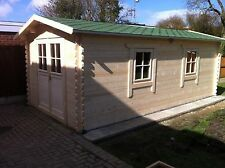 6 by 3 meters Farm Shop/ gym/ we can make any size, felt roof shingles included.