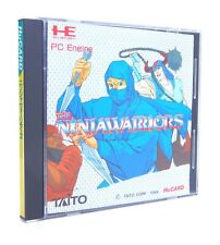 NINJA WARRIORS Nec PC Engine Hu-Card Japan