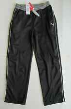 Nwt Puma Boy's Athletic Pants Black Gray Xl 18-20