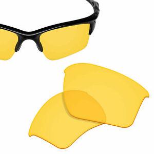 Replacement Lens for-OAKLEY Half Jacket 2.0 XL Sunglasses HI-DEF Yellow UVA&UVB