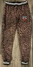 Nba Chicago Bulls Leopard Print Exercise Pants Womens Size Xs