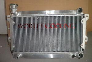 FOR 1979-1982 MAZDA RX7 SA22C 12A aluminum radiator Manual 1979 1980 1981 1982