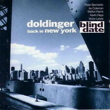 CD Album Doldinger Back In New York Blind Date (Limited Edition) 90`s WEA