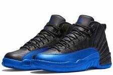 Air Jordan 12 'Game Royal' Black/Game Royal-Black 130690-014 Size 9.5 NEW