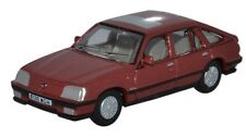 1986 Vauxhall Cavalier Carnelian Red OO 1:76 scale Oxford 76CAV002 GM UK