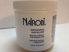 nairobi replenishing hair relaxer regular formula for normal hair 15 fl