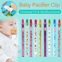Dummy Clip Baby Pacifier Chain Newborn Dummie Soother Holder Binky Gift -