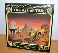 Vintage THE ART OF TSR DRAGONS OF SUMMER FLAME Puzzle Sealed 1995 D&D Elmore