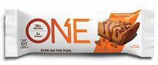 ONE Protein Bar, Peanut Butter Pie, 20g Protein, 1g Sugar, 12-Pack