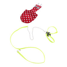 Parrot Bird Harness Leash Adjustable Anti-bite Rope With Birds Soft Diaper