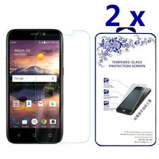 2-Pack For Zte Prelude + (Z851) Tempered Glass Screen Protector