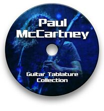 PAUL McCARTNEY ROCK GUITAR TABS TABLATURE SONG BOOK TUITION SOFTWARE CD