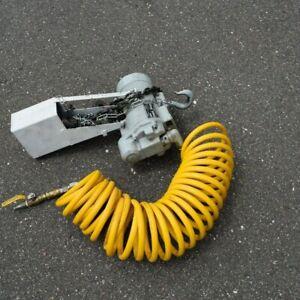 Chain Hoist, Ingersol Rand, Pneumatic, 1/2 Ton, ML10, Used