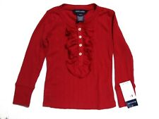 Ralph Lauren 311120553 Holiday 1 Toddlers Red L/S Blouse Size 2/2T NWT