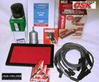 HOLDEN VN VR VP VS  COMMODORE OIL AIR FUEL FILTER KIT+IGNITION LEADS+SPARK PLUGS