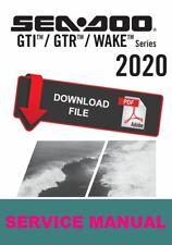 Sea-Doo 2020 GTI 130 Service Manual