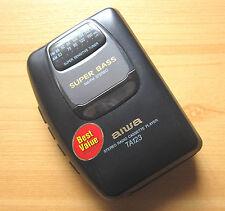 AIWA HS-TA123 Walkman Kassettenspieler AM/FM Radio Cassette Player Super Bass
