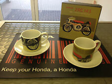 Genuine Honda Classic Racing Moto Coppa & Piattini 2RC143 * GRATIS *