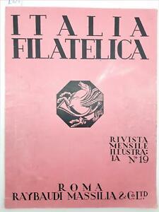 Italia Filatelica Rivista Mensile Illustrata Luglio-Agosto 1946 Reybaudi