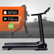 Folding Treadmill for Home / Office 750W Motor 6.2mph Max Bluetooth More
