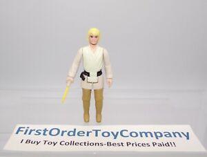 Vintage Star Wars 1977 Tatooine Luke Skywalker Loose Figure COMPLETE C-8+