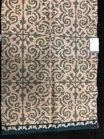 Green Tile work Woven Accent Rug 2X3 by threshold