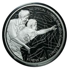 10 Euro 2011 Silver Proof Coin Greece Special Olympics, Highlight # 242 From 1$