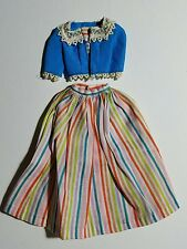 Vintage 1964 Barbie Doll Outfit BARBIE IN HOLLAND top & skirt! #0823