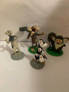 Assorted Penguins of Madagascar figures