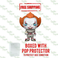 Funko POP Pennywise with Boat IT Damaged Box