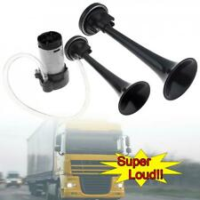 178dB Super Loud Dual Trumpet Electronically Controlled Car Air Horn Compressor