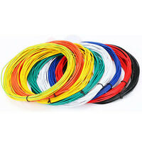 5-10M Flexible Stranded 1pin Wire Cable 26AWG 1007AWM Cord Hook-up DIY LED LampF
