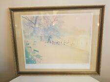 Derek Mynott Kensington Gardens Limited Edition Lithograph With C.O.A