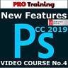 Video Courses Adobe Photoshop CC 2019 Course4 - Training Video Lessons Tutorials