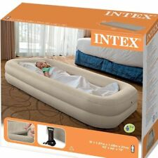 Intex Travel Inflatable Kids Airbed W-pump Portable Bed Set