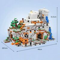 2688pcs The Mountain Cave My worlds Building Block Model Set for Children Gifts