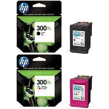Genuine HP 300XL Black & HP 300XL Colour Ink Cartridges Deskjet F4580 D1658 D110