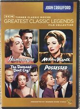TCM Greatest Classic Legends Film Collection: Joan Crawford (4 DVD Set, 2012)