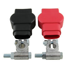 Crimp Supply Military Style Battery Terminal Top Post Kit (+ and -) With Covers