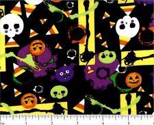 "1 yard  ""Halloween Party"" Fabric"