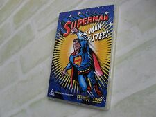 SUPERMAN THE MAN OF STEEL - CARTOON CLASSICS - REGION 4 PAL DVD