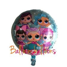 """18"""" LOL Surprise Doll Foil Emoji Balloons Party Birthday Decorations Hellium Toy"""