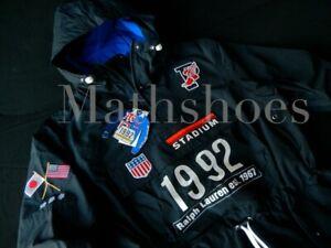 Polo Ralph Lauren Tokyo Stadium Anorak NWT vtg 1992 japan usa p wing olympics XL