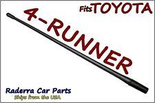 "FITS: 1996-2017 Toyota 4-Runner - 13"" SHORT Custom Flexible Rubber Antenna Mast"